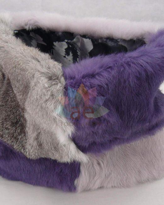 Cuello conejo bicolor 1