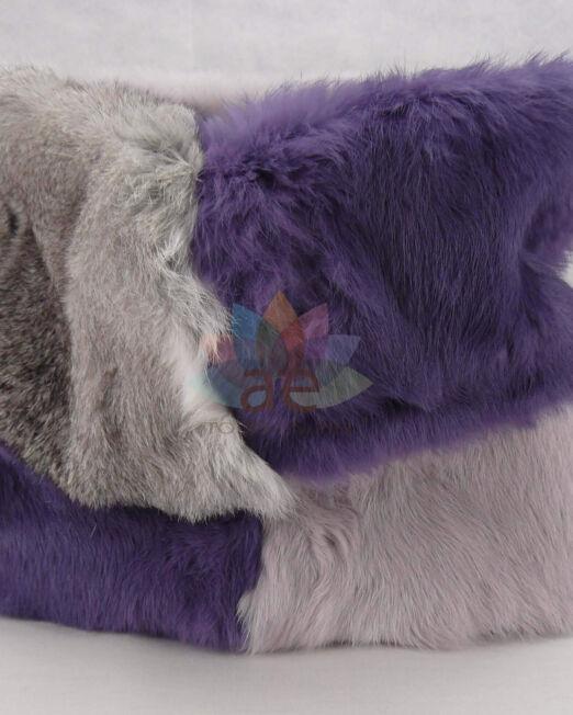 Cuello conejo bicolor 3