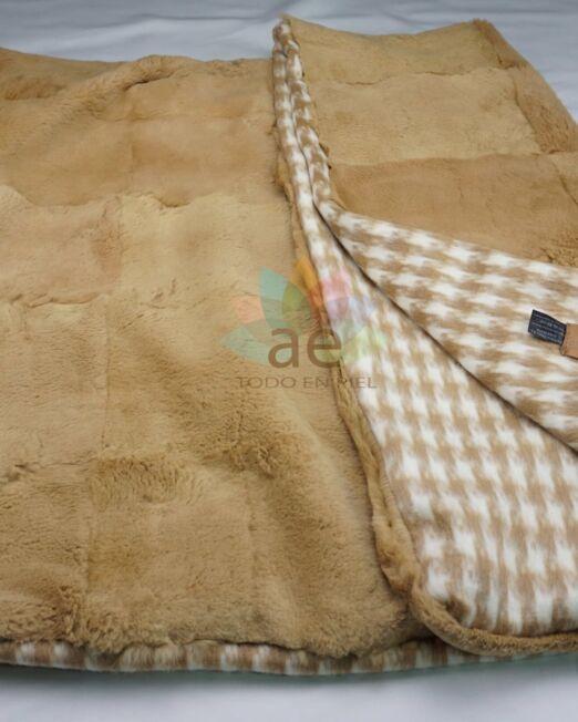 Manta de conejo forro lana 1-min